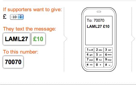 Donate to Lamlash Church by sending LAML27 £xx to 70070, where xx is the amount